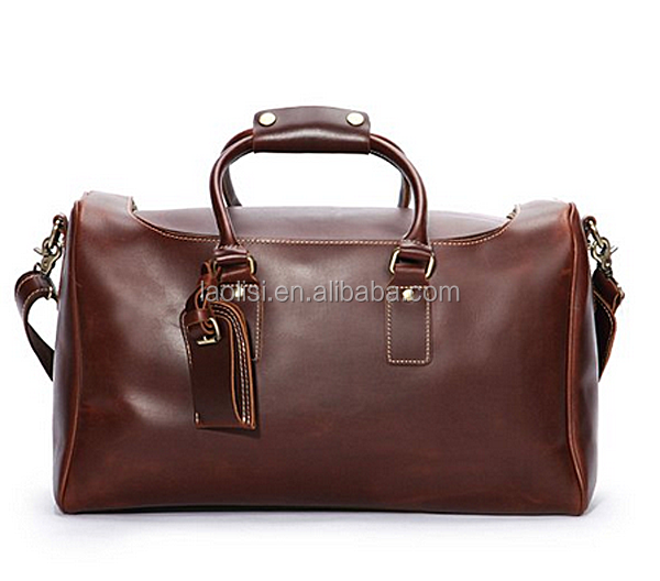 alibaba italian vintage style leather duffel bag custom duffle bag for men - Mens Leather Duffle Bag