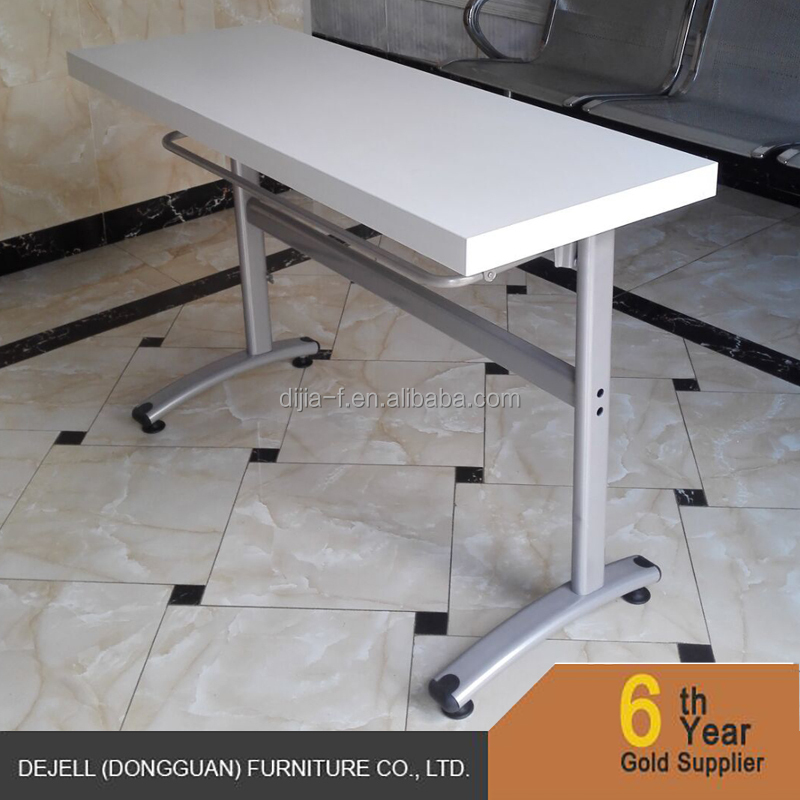 Space Saving Furniture Impromptu Mobile Folding Training Table