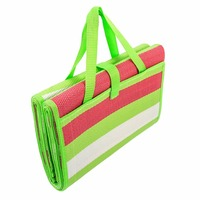 Plastic PP Polypropylene Material Waterproof Folding Outdoor Picnic Beach Camping Grass Travel Floor Mold Mildew Resistant Mat