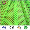 Tuequoise spandex athletic mesh fabric diamond hole plain mesh fabric dry fit function