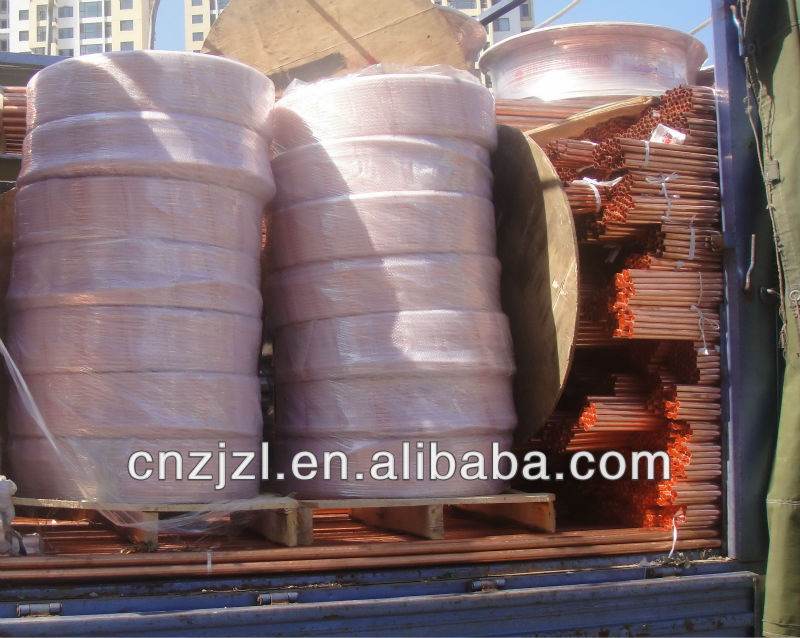 Refrigeration Spare Part Copper Tube For Air Condition And Refrigerator