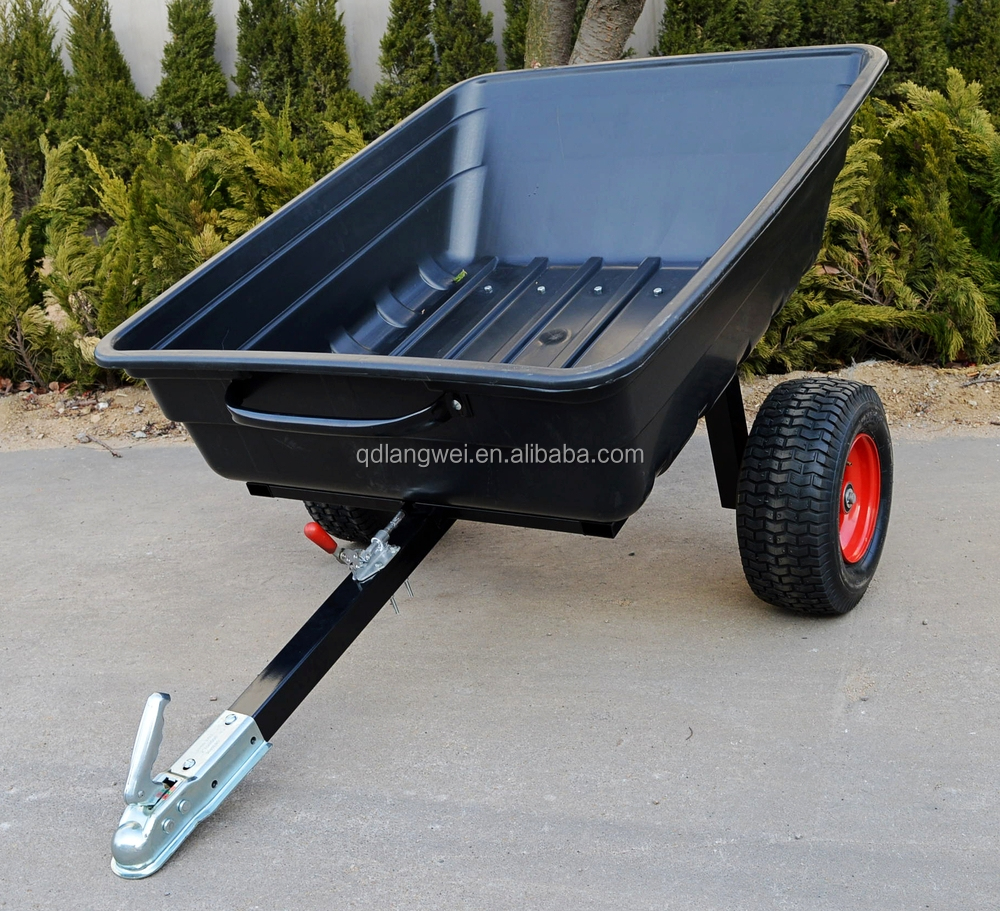 Atv Plastic Tractor Dump Trailers Buy Plastic Trailer Atv Dump Trailer Tractor Dump Trailers Product On Alibaba Com