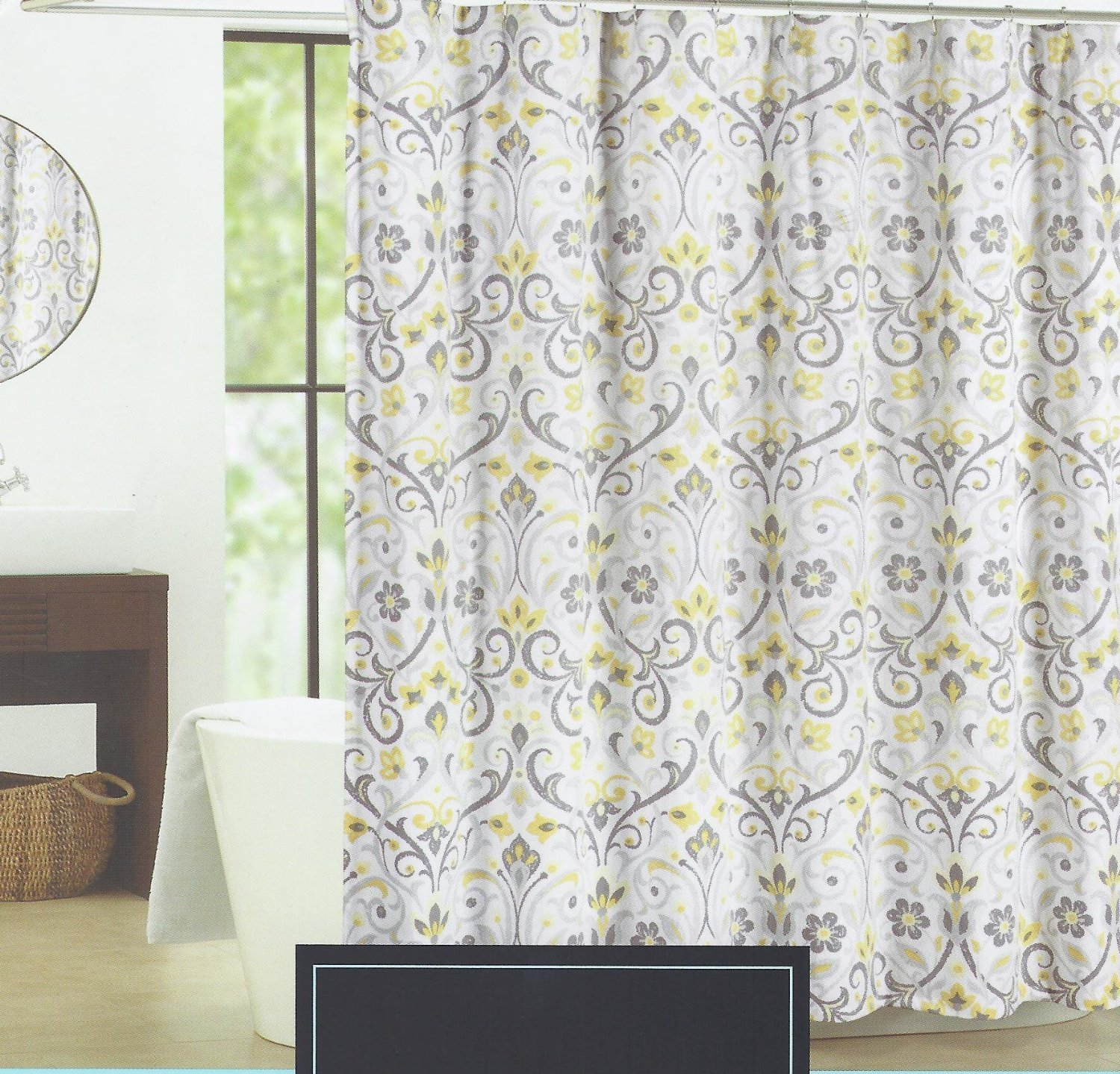 Cheap Grey And Yellow Shower Curtain, find Grey And Yellow Shower ...