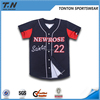 Custom Sublimation China Wholesale Cheap Baseball Jerseys