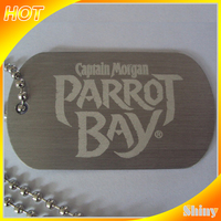 China online selling brand printed metal tags for sale China supplier