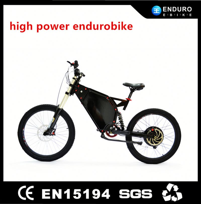High Power Mountain Electrick Bike 5000W with the TFT display