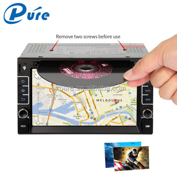 2 Din Car Stereo Vehicle Multimedia Player Car DVD TV Radio Player with GPS/Bluetooth/3G/TV/USB/SD/AUX IN/Mirror-link
