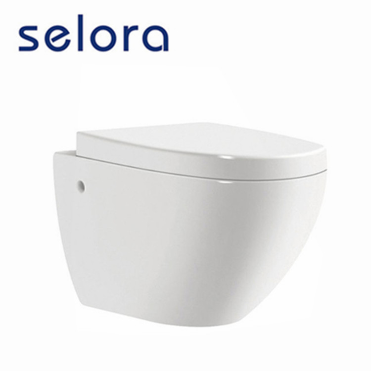 sanitary ware bathroom white color wall hung women wc toilet from china