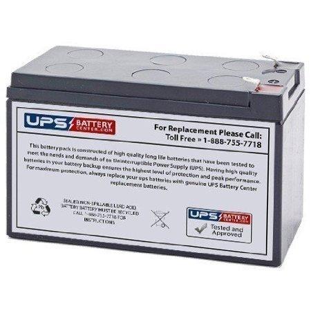 12V 7.2Ah F2 Sealed Lead Acid (SLA) Replacement Battery for APC Back-UPS Pro 300 BK300XIII