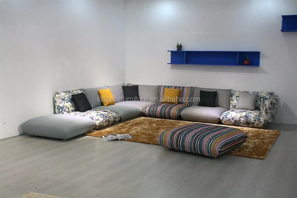 Middle east hotsale arabic fabric floor sofa set buy for Buy floor sofa
