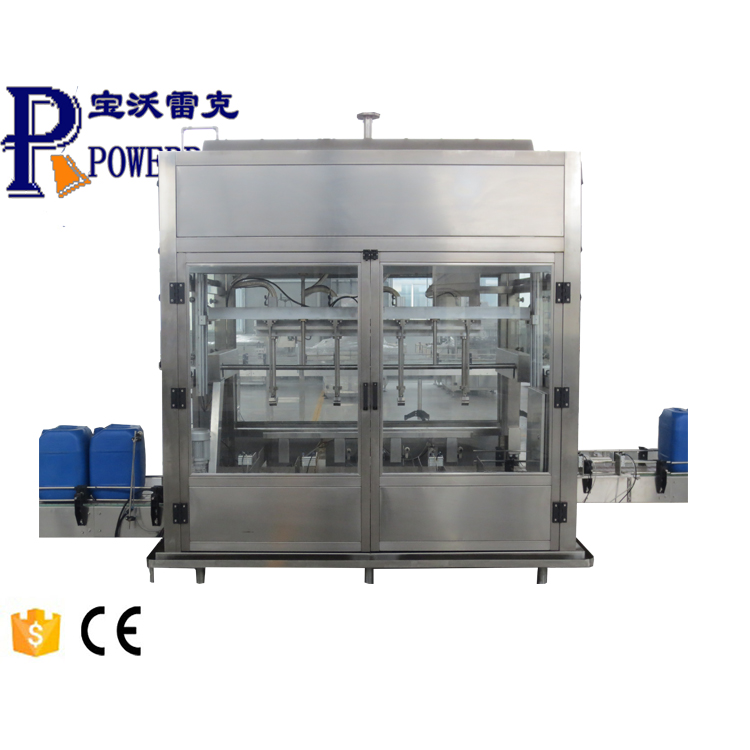 Automatic hot sauce filling and capping machine for tomato sauce