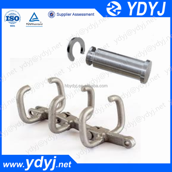 China supplier Drop Forged Scraper Conveyor Chain Link