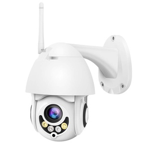 outdoor 1080p wifi wireless ptz mini ip dome camera with 5xoptical zoom, 2 way audio,night vision, motion detection
