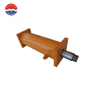 Double Acting LOG Splitter log cutter hydraulic cylinder steel flange weld hydraulic cylinder