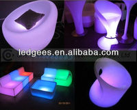 FANCY! 2013 Modern LED Furniture Art Deco Chairs with Magic Color Changing, CE and RoHS Approval