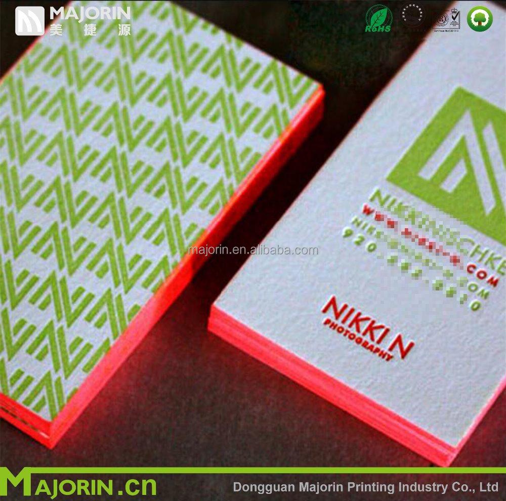 Premium Business Card With Letterpress,Embossing,Foil,Debossing ...