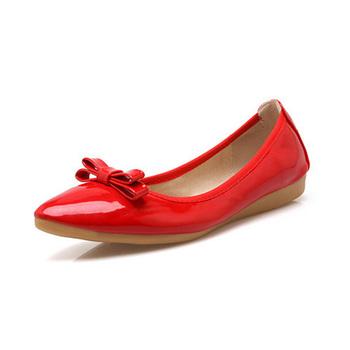 72f3e565aa2 Comfortable Soft Nude Black Ballet Flats Shoes Girls Dancing Shoe ...