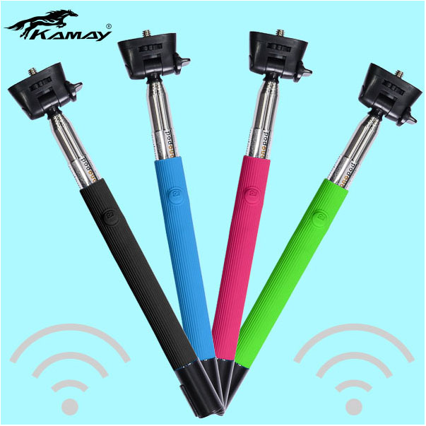 wireless bluetooth self-timer extendable hand held gorilla selfie stick