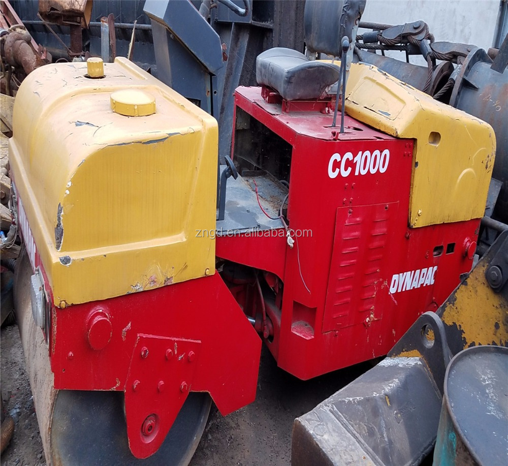 Used DYNAPAC CC1000 DOUBLE DRUM Roller at low price /used dynapac CC422 CC211 CC421 CC1000