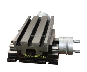 Precision Milling Machine Cross Slide Rotary Table with fixed base BM30201- BM30203