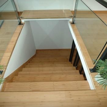 Instalaci n de pisos de bamb accesorios bamboo escaleras - Escaleras de bambu ...