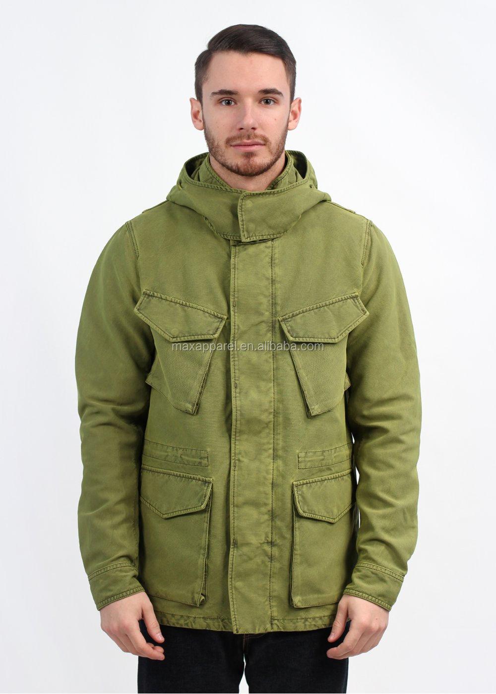 afdbcda3e 2015 Custom Made Eu Fashion Mens Cotton  Nylon Blend Field Jacket ...