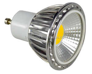 5W 500lm Epistar chip cob gu10 24v led spot light