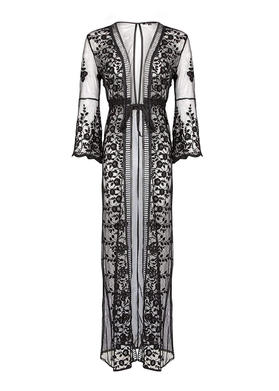 Cheap Black Lace Kimono Jacket, find Black Lace Kimono