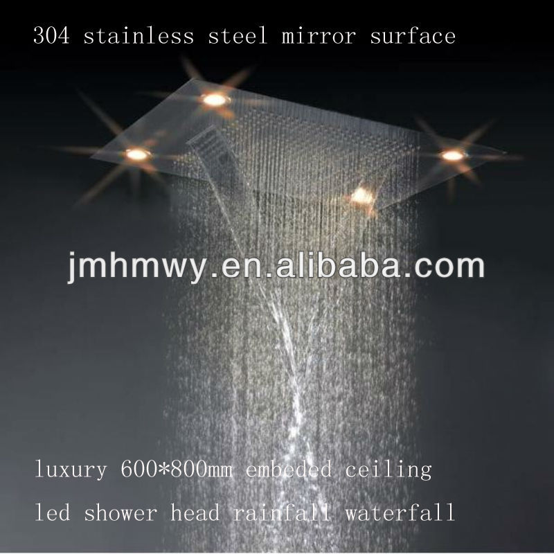 rain shower head with lights.  Remote Control Shower Head Wholesale Suppliers Alibaba