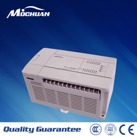 industry automation AC/DC input PLC controller with programming software