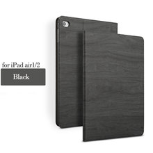 Tree Texture For NEW iPad Air 2 Ultra Slim Magnetic Smart transparent Case For iPad Air Case