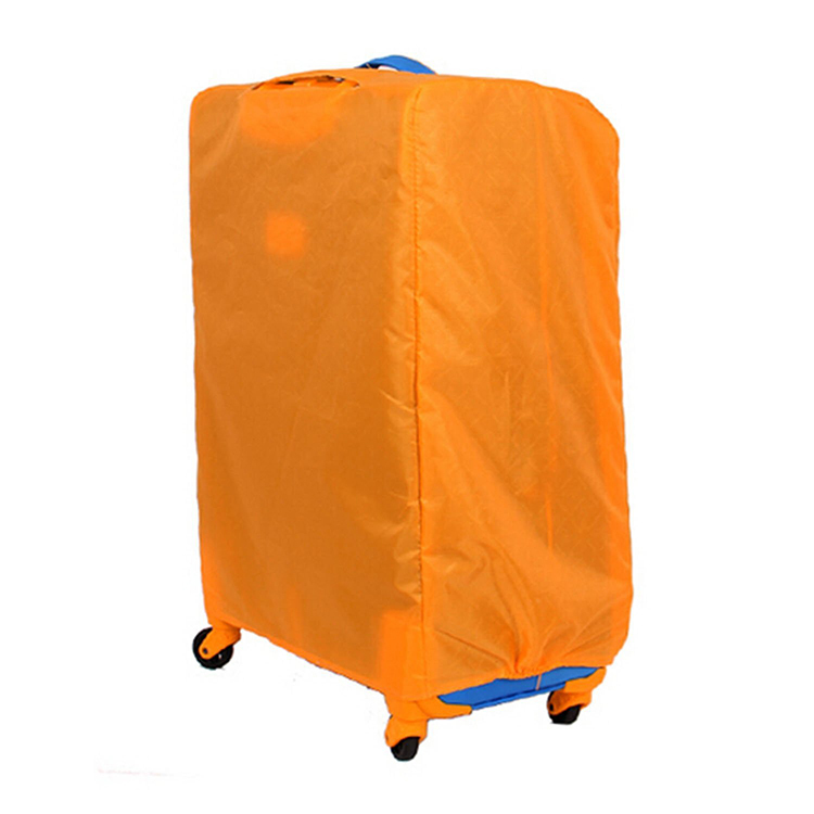 Durable custom nylon waterproof luggage cover, suitcase cover for travel
