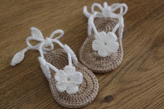 Crochet Baby Sandals Reviews Online Shopping Crochet