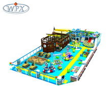 New style soft kids safe pirateship theme modular indoor playground for sale