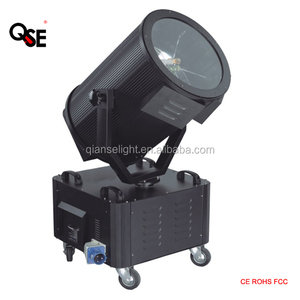 Professional Waterproof xenon 4000w moving head search light outdoor sky beam light
