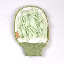 Greenwell <span class=keywords><strong>Loofah</strong></span> Spons Borstel Bad Mesh Borstel Handschoen Beste Body Reiniging Scrubber Mitts