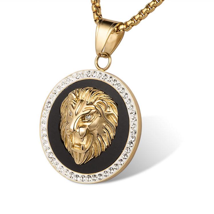 men's lion pendant - 750×750