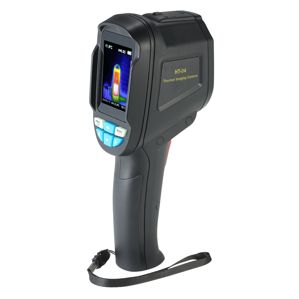 Handheld Pyrometer Thermal Imaging Camera HT-04 Portable Infrared Thermometer IR Thermal Imager Infrared Imaging Device220*160 - KingCare   KingCare.net
