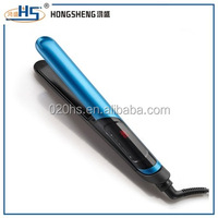 High-tech design LCD temperature Display Electric Straightening Irons Hair Straightener