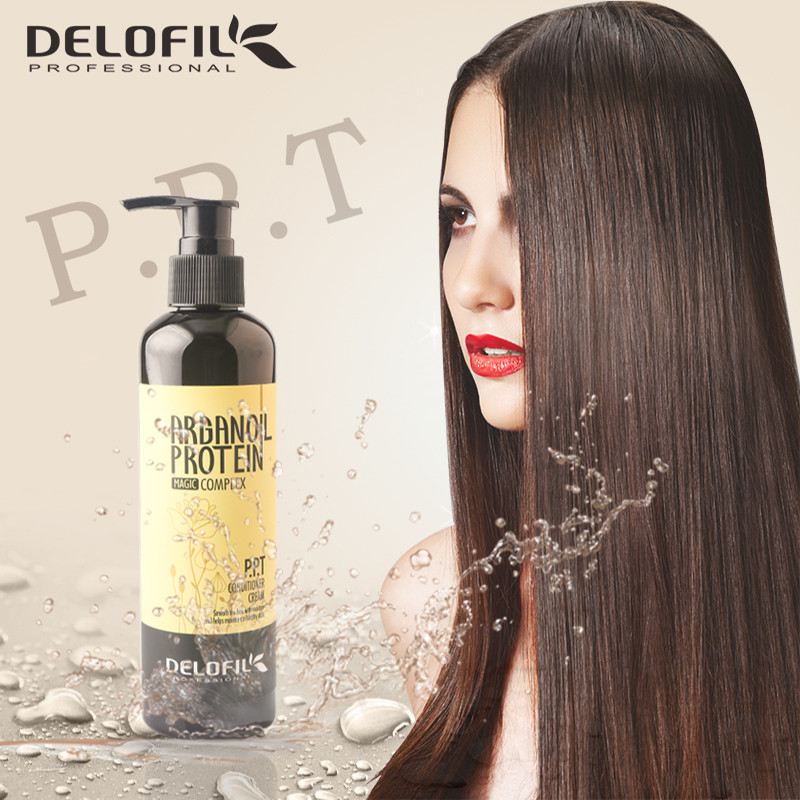 Guangzhou factory leave in hair mask PPT hair treatment ppt