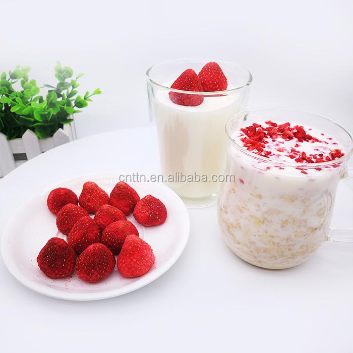 Wholesale freeze dried strawberry whole FD frozen strawberry