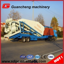 yhzs25 small cement concrete mixing batching plant for sale iso9001