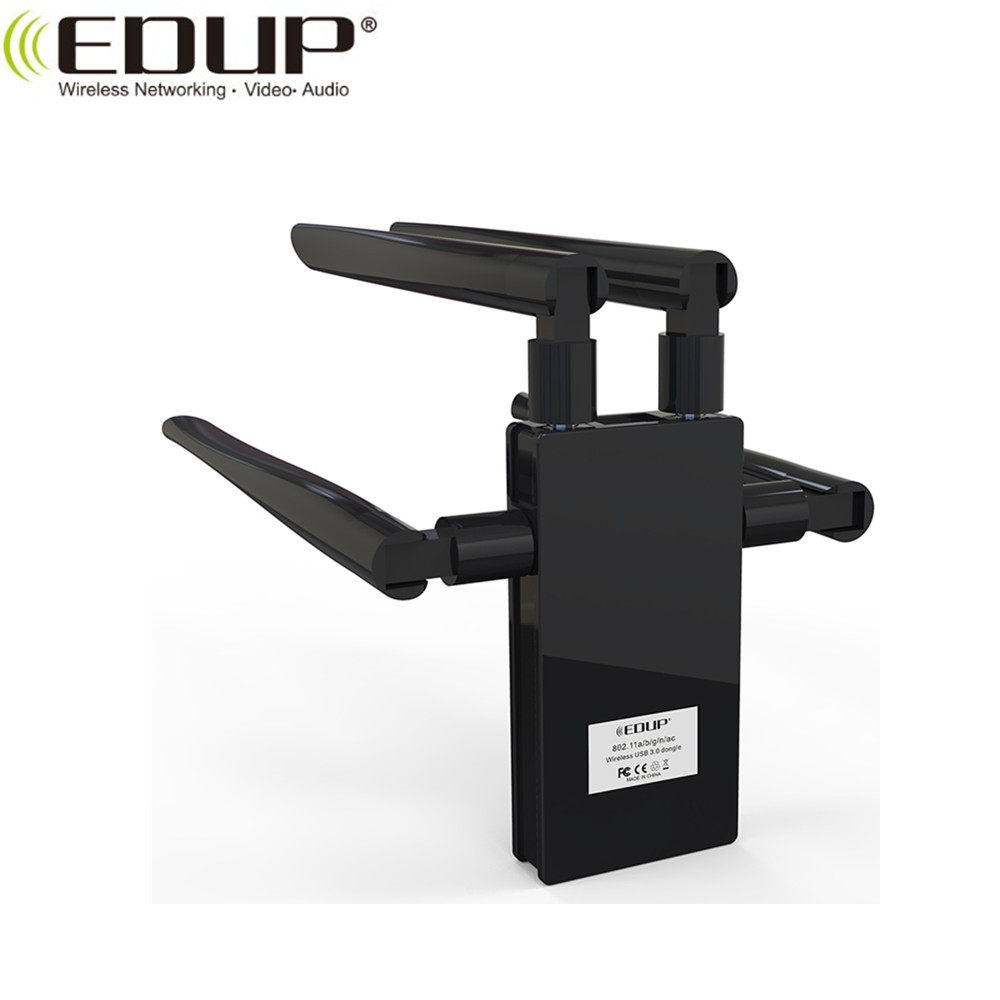 1750Mbps Dual Band Realtek RTL8814 Chipset Wireless Nano USB Dongle WiFi  Adapter, View Wlan Card WiFi Adapter, EDUP Product Details from Shenzhen  EDUP