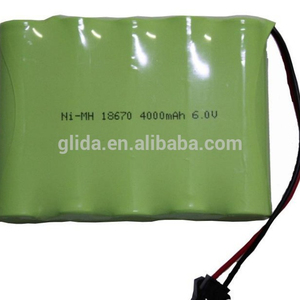 18650 6V 4000mAh NiMH Rechargeable Battery Pack Manufacturer with CE,ROHS,UL certificates