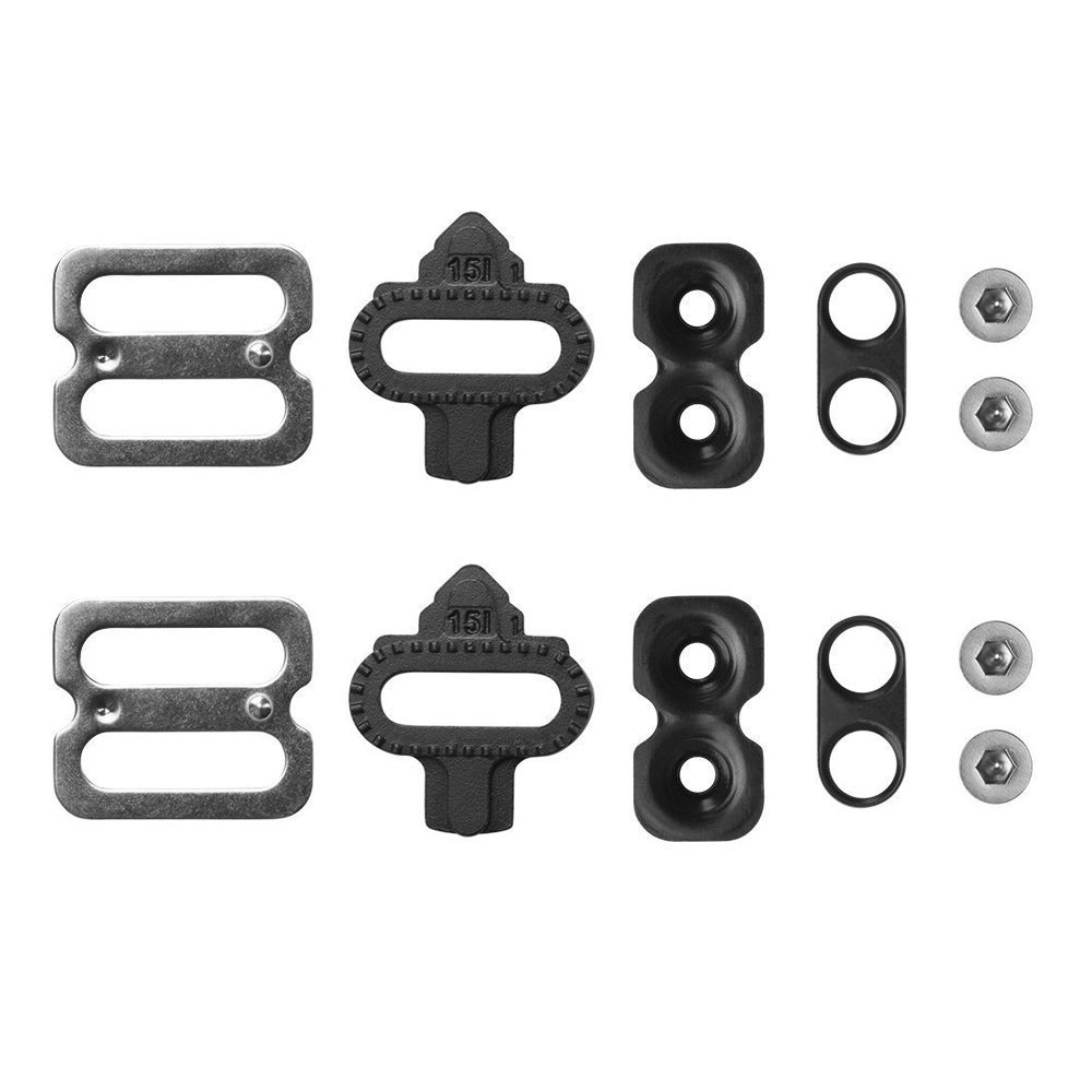 Replacement Bike Cleats Set for Shimano SPD Cycling Shoes,Spin Class,ViMall SPD Bike Shoe Compatible MTB Road Bike Pedal Cleats/Easy-off pedalset/Bicycle Pedal Cleats Mount Clips