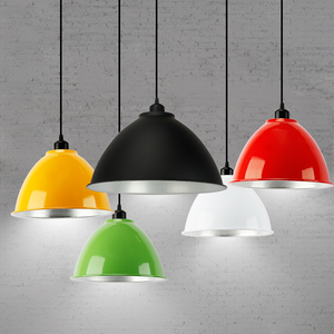 good price fruit color warehouse light workshop office gym cafe restaurant dance room aluminum dining pendant light