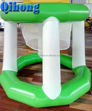 2016 New design best inflatable water goal, float water basketball hoop for sports game