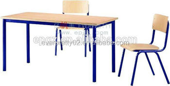 School Furniture Of Kids Wooden Study Table And Chair Kids Homework Table