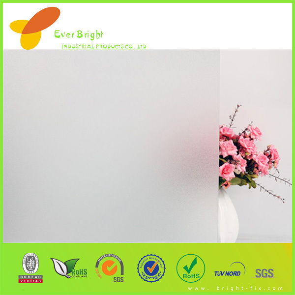 2014 Hot Selling Translucence Removable Non-adhesive Decorative Cling Static Window Film
