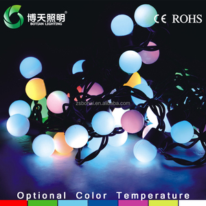 Christmas decoration led ball string light for outdoor